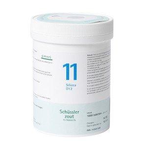 Schüssler Salze Pflüger Nr 11 Silicea D12 1000 Tablet Glutenfrei