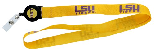 aminco NCAA LSU Tigers Badge Reel ()