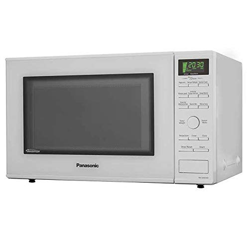 Panasonic NN-SD664W Countertop Microwave Oven – with Inverter Technology, 1.2 Cu.ft White (Renewed)