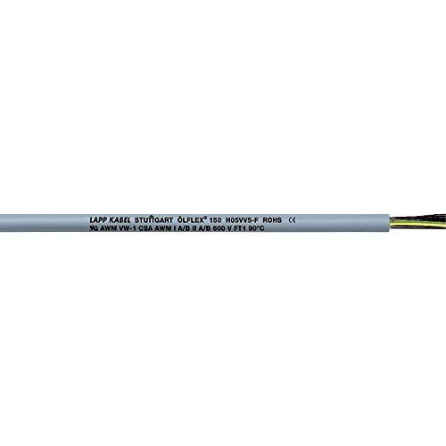 LAPP, 15218, Ol 150 H05Vv5-F 18X1.0 18/18C Cable, 19FT ()