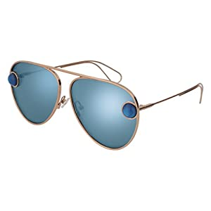 Sunglasses Christopher Kane CK 0015 S- 003 GOLD / BLUE