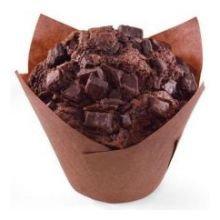 Otis Spunkmeyer Decadent Chocolate Chunk Supreme Muffin, 4 Ounce - 24 per case.
