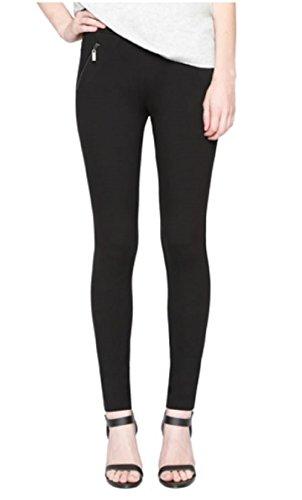 Zipper Leggings Pants - 9