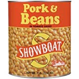 Showboat Pork & Beans in Tomato Sauce (Case of 6)