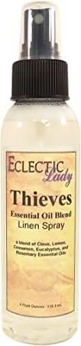 Thieves Essential Oil Blend Linen Spray, 2 ounces