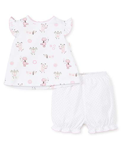 - Kissy Kissy Baby-Girls Infant Puppy Park Print Sunsuit-Pink-0-3 Months