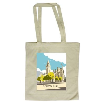 Thompson design of By with Dave 420mm illustrator 380mm Town Shopper Tote Hall Bag Manchester x Art247 4qF7S7