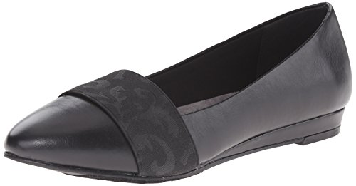 Style Puppies Hush Black Soft Flat Women's by Dona Ballet SwtwdqO