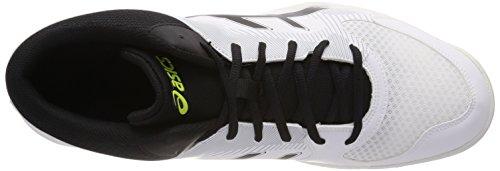 Volleyball Homme Asics task Grey 0190 Gel Chaussures Mt Cassé whiteblackmid De Blanc xYUUpqXwr