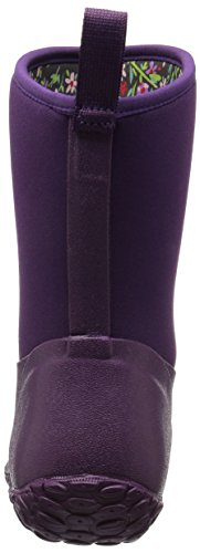 Boot W Boots Ll height Women's Print Lining floral Rubber Mid Purple Garden Muckster Muck vg4w8v