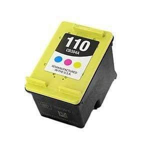 Generic Remanufactured Ink Cartridge Replacement for HP 110 ( Tri Color , 4-Pack )