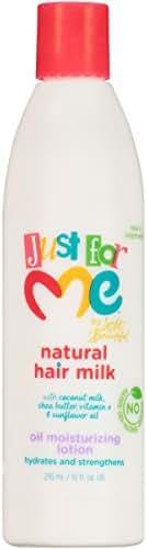 Just For Me Hair Milk Childrens Oil Moisturizing Lotion, 10 Ounce