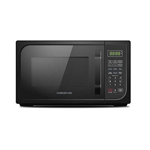Farberware FMO09AHTBKE 0.9-Cu. Ft. 900-Watt Microwave Oven, Black Matte