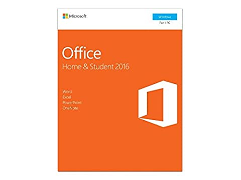 Microsoft Office Home and Student 2016, 1 user, PC Key Card (Microsoft Word For Mac Disc)