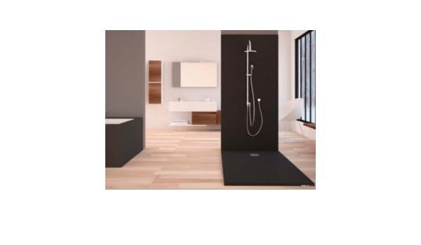 Plato de ducha Madison extraplano, antideslizante, 3 cm grosor ...