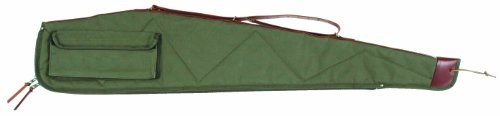 Bob Allen BA4100 Canvas Rifle Case, Green, (Allen Canvas)