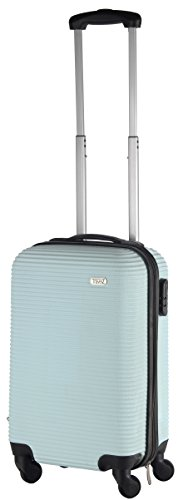 Cabin size 20' luggage carryon luggage baby blue/factory directly sell