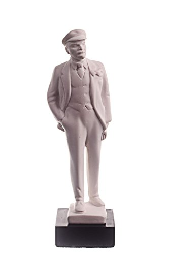 (danila-souvenirs Soviet Russian USSR Leader Vladimir Lenin Marble Bust Statue Sculpture 6.7'')