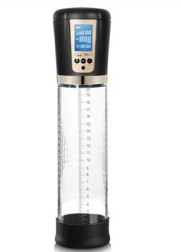 Pump Enlargement Men Vacuum Pressure Large Massage Cups Male Vacuum Pump Air Enlarger Extender Prolong Enhancer Electric Men's High Vacuum Pump Air Pressure Setting Device