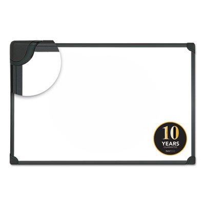 Magnetic Steel Dry Erase Board, 48 x 36, White, Aluminum Frame, Sold as 2 Each by Universal One