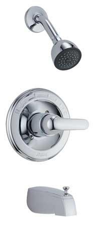 Delta T13420 Monitor Pressure Balance Tub and Shower Trim Kit, Chrome, 2.0 GPM, 8' x 4' x 9.75'