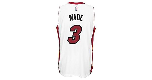 Amazon.com: adidas Men s Dwyane Wade Miami Heat Swingman ...