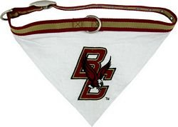 NCAA Boston College Eagles Pet Collar Bandana, Medium