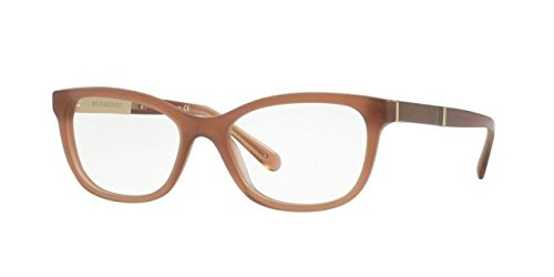 Burberry Women's BE2232 Eyeglasses Matte Gradient Brown 51mm