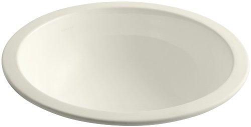 KOHLER K-2349-96 Camber Undercounter Bathroom Sink, Biscuit ()