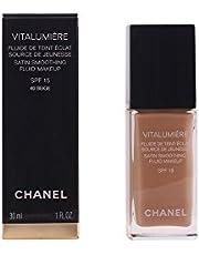 Chanel Vitalumiere Satin Smoothing Fluid SPF 15 Makeup, No. 40 Beige, 30 Milliliter