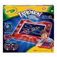 Crayola Color Explosion Glow Board -- 4 per case.