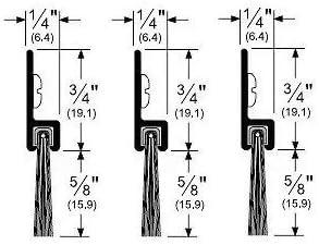 Brush Seals Industrial & Scientific Pemko Brush Door Bottom Sweep ...