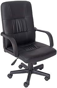 Cadeira de Escritório Presidente Giratória Trevalla TL-CDE-28-1 Preta