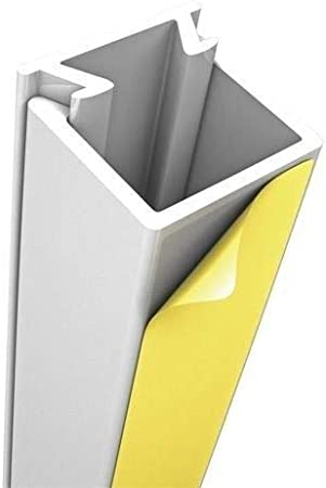 Blanco scos smartcosat 10/m Cable Canal auto-adhesivos PVC Pl/ástico Aufputz para montaje en pared Cable multiusos bah/ía de cable