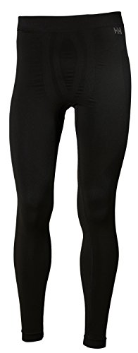 Helly Hansen Lifa Seamless Baselayer Pants, Black, XX-Large (Underwear Hansen Helly Long)