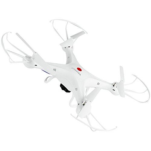Amazon Com Vivitar Drc 120 Camera Aerial Quadcopter Drone White