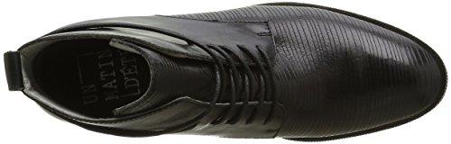 Un Matin d'Eté Lenzo - Botas Mujer Negro - Noir (V Merengo Cut Stripe/V Mer Noir)
