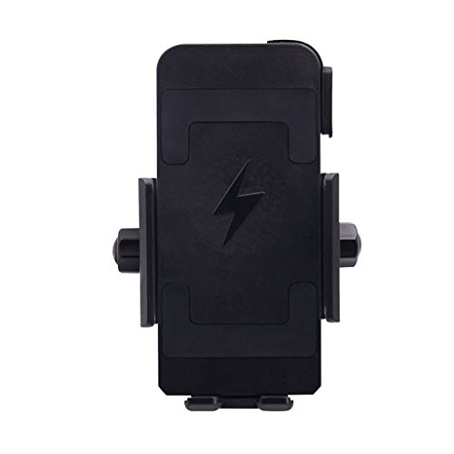 Zhaowei Motorcycle Wireless Charging Mobilephone Bracket Stable Riding Fixed Bracket Protection Waterproof 10W32V (Black)