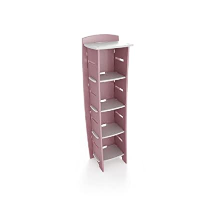 Legare 59 Inch By 18 Kids Bookcase Pink And