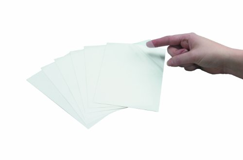 Brady 99272 Clear Polyester Protective Overlaminate For Write-On Labels , Clear,  4.5