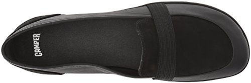 Women's Nina Flat K200618 Mary Right Jane Camper Black 4qwfOqnT