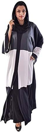 Almira Grey Religion Abaya For Women