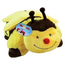 "PeeWee Bee Pillow Pets - Yellow/Black (11"")"