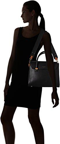 Tlea1020 Le Noir Sac Noir Tanneur femme porte Lea main fwtRBwzq