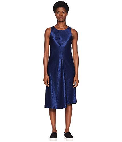 - Vince Women's Bias Sleeveless Dress Ink Dark Navy X-Small