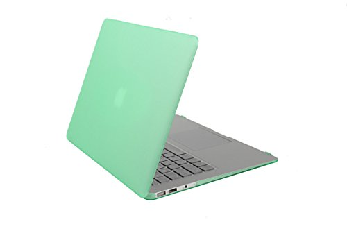 (2018 Macbook Pro 13 Inch Case,Sunway Ultra-slim Plastic Cover Soft Touch Hard Shells Protective Cases for Macbook Pro 13 Inch Model A1706/A1708/A1989 - Green)