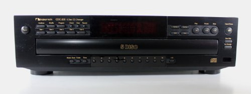 Nakamichi CDC-200 5 Disc CD Changer Compact Disc Player