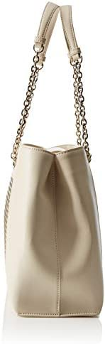 Love Moschino Borsa Calf PU, Sac messager Femme, Or (Oro), 12x26x40 centimeters (W x H x L)