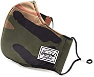 Herschel Classic Fitted Mask, Woodland Camo, One Size