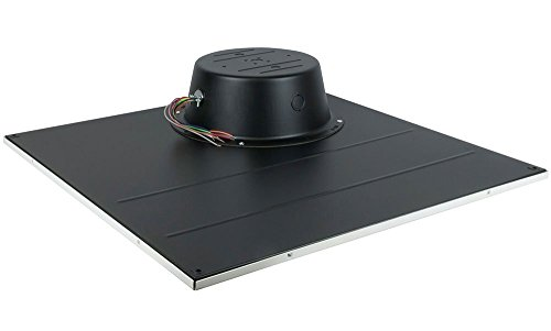 Lowell LT2810-72BB Ceiling Tile Speaker 15W Driver 2x2 In. Value Model Dual Voltage Transformer by ()